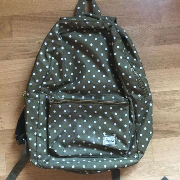 dfdf469872 Herschel Supply Company Handbags - Herschel polka dot backpack